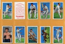 Cigarette cards Golf, snooker-billiards, Boxing, tennis
